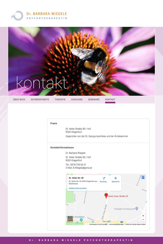 Website – Kontakt