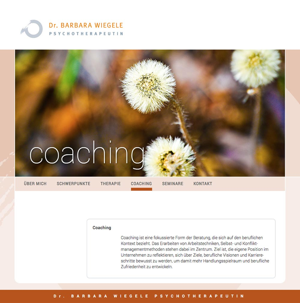Website – Coaching