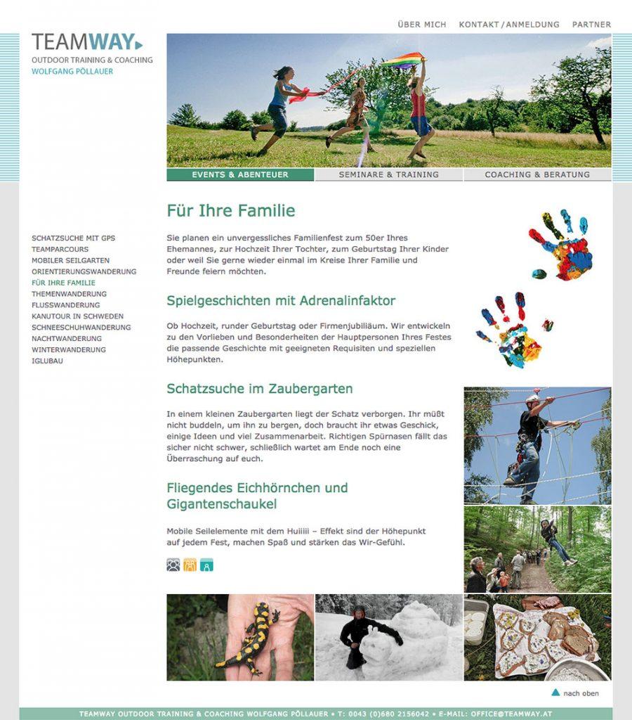 Teamway Website – Für Ihre Familie