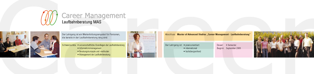 Career Management Laufbahnberatung MAS – Flyer