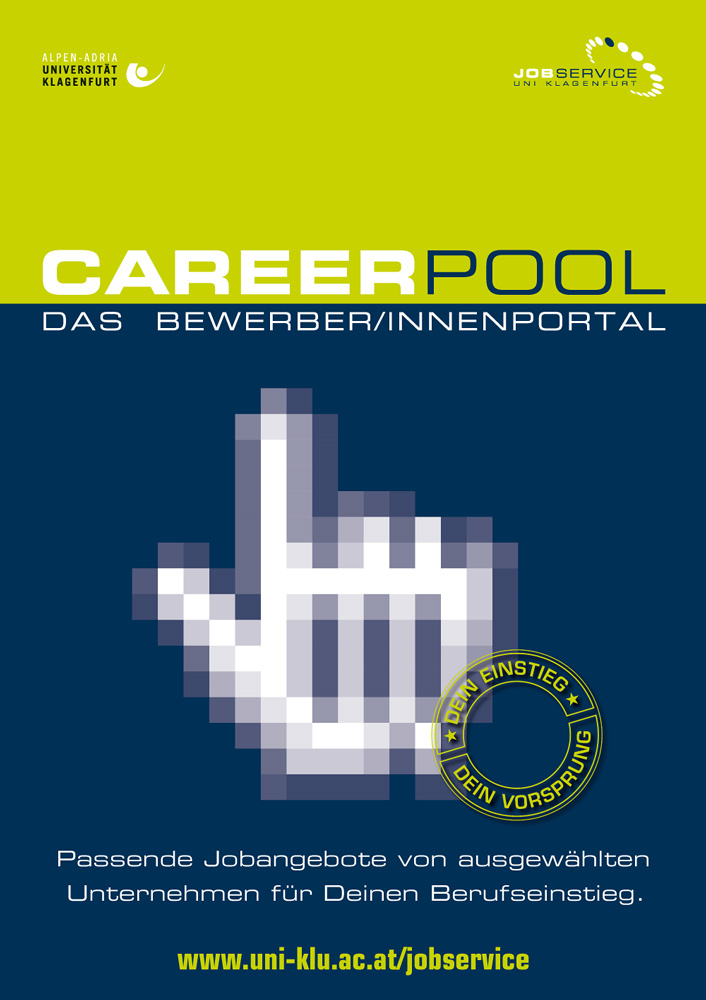 Jobservice – Plakat Career Pool