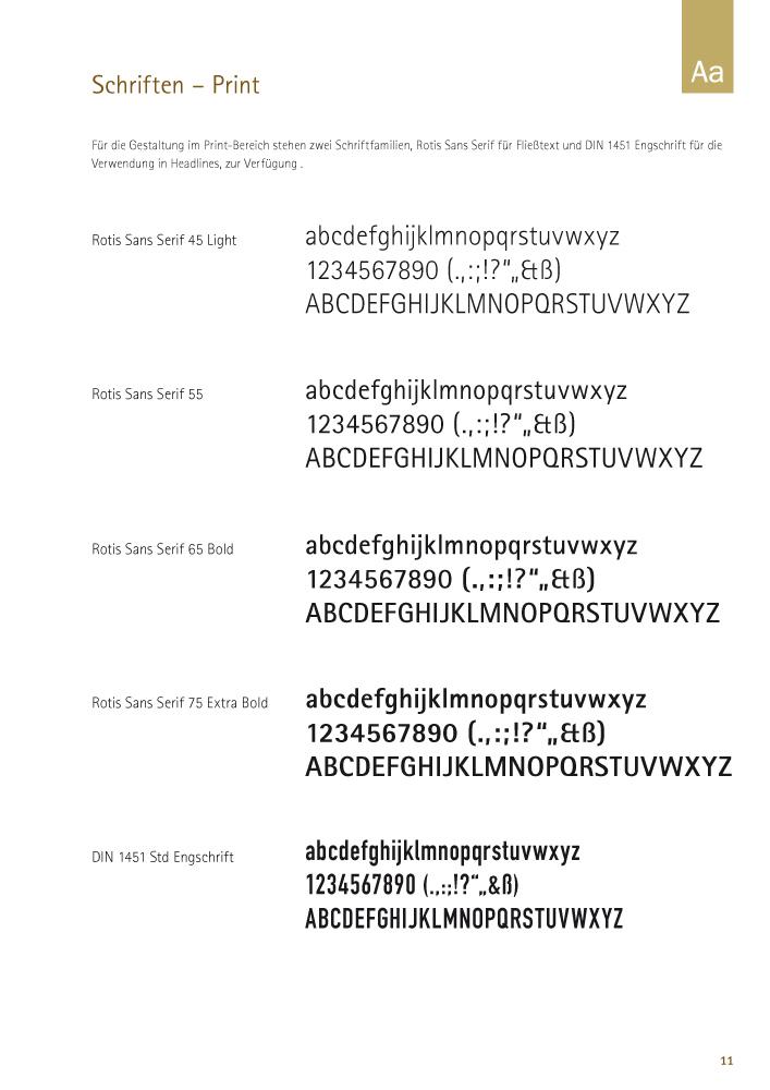 Schriften – Print