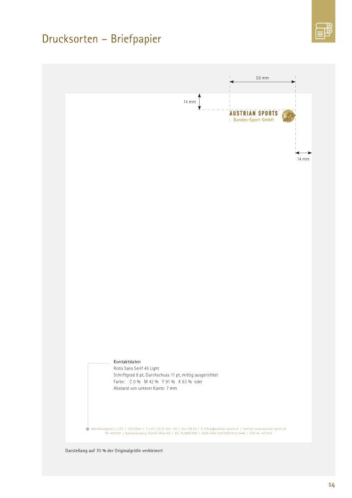 Drucksorten – Briefpapier