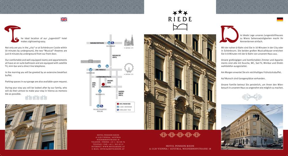 Hotel Pension Riede – Folder