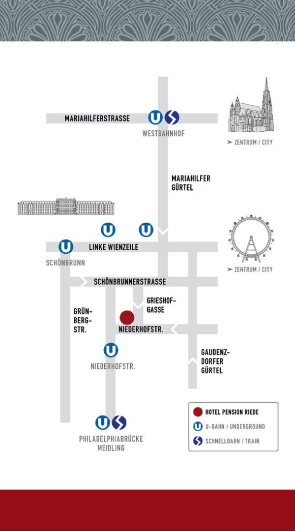 Hotel Pension Riede – Visitenkarte RS