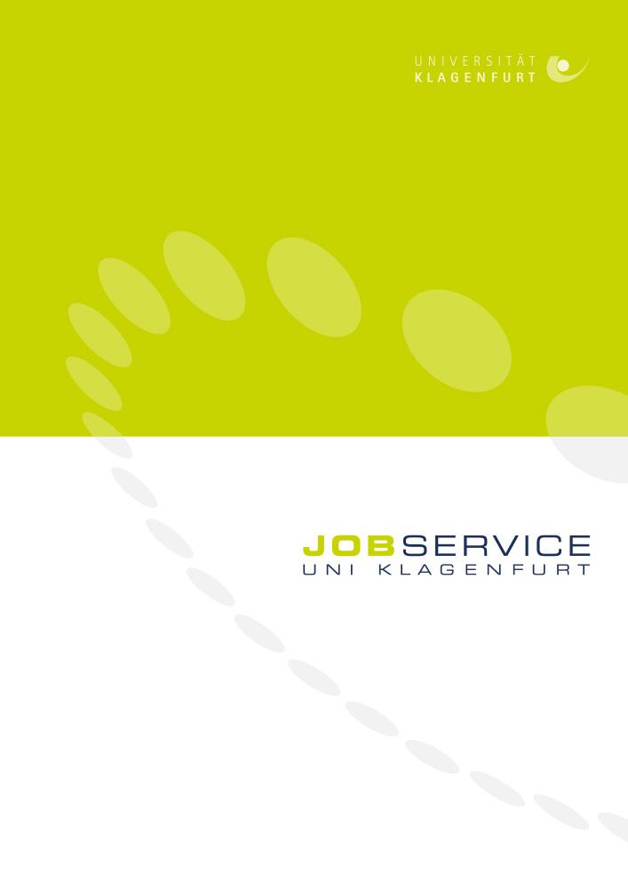 Jobservice Uni Klagenfurt – Mappe