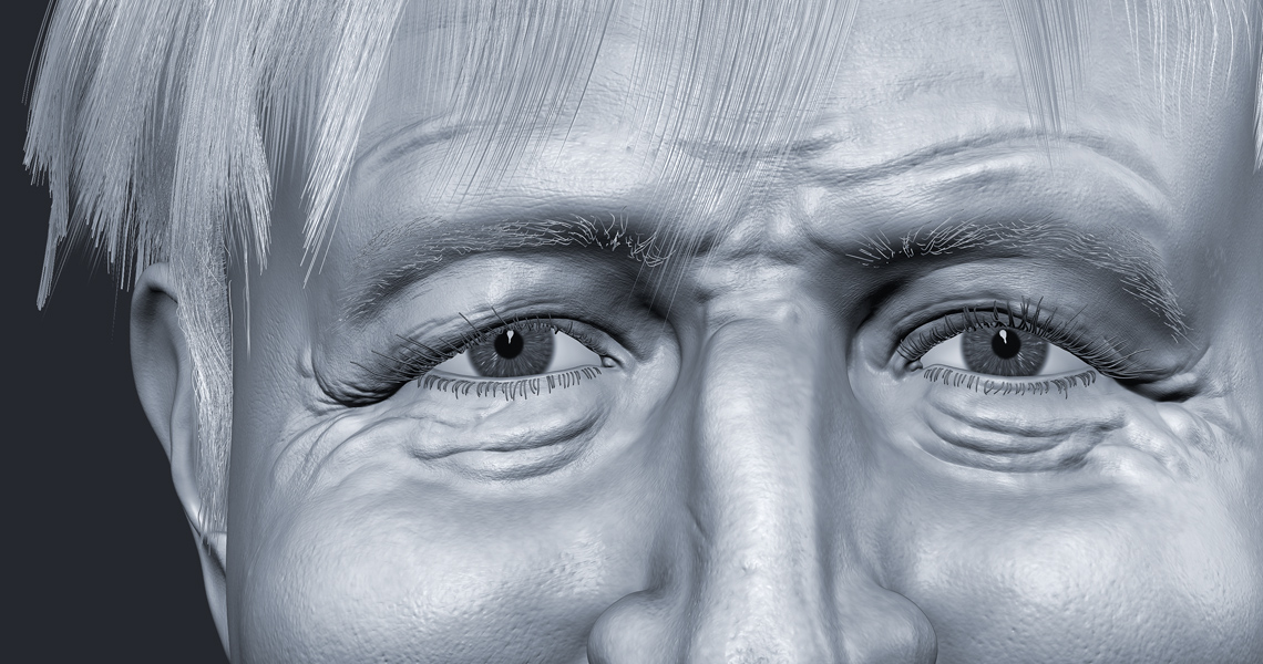 Boris Johnson Illustration Zbrush